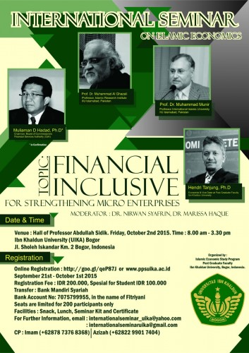 International Seminar on Islamic Economics